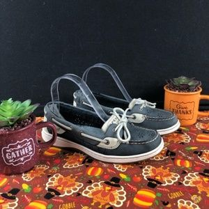 Sperry Top-Sider Angelfish Boat Navy Sz.7M🌺